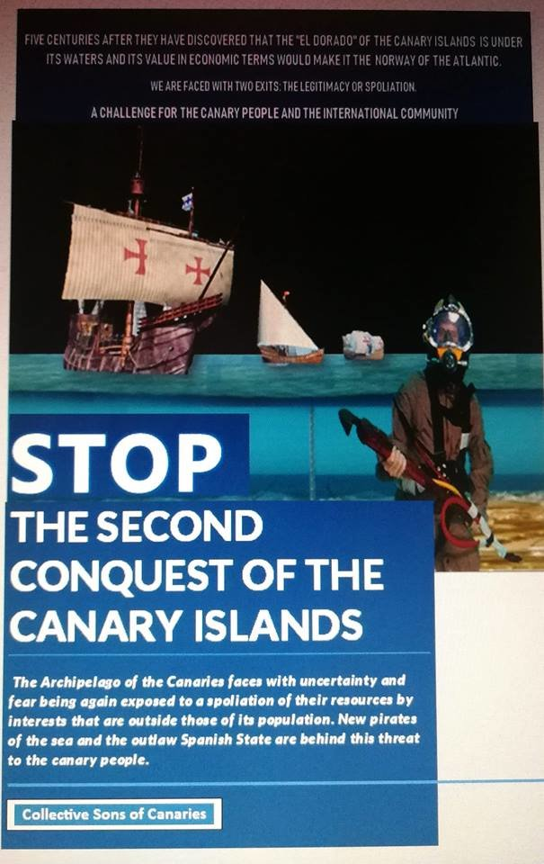 Stop Second Conquest Canary Islands